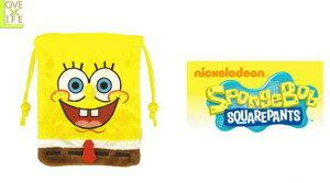 【スポンジボブ】ぬいぐるみ巾着【フルボディ】【SpongeBob】【小物入れ】【袋】【巾着】【マスコット】【キャラ】【雑貨】【かわいい】お鼻がぴょんと飛び出したかわいい巾着がとっても
