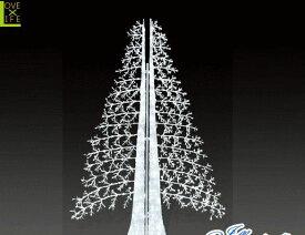 【LED】【ALS-TR(A)ABI-2】【大型商品】LEDストリング アビエスツリー【2枚】【ツリー】【クリスマスツリー】【ホワイトツリー】【モチーフ】【イルミネーション】【クリスタル】AOIデパートの新作イルミネーション【大人気】【電飾】【クリスマス】【省エネ】