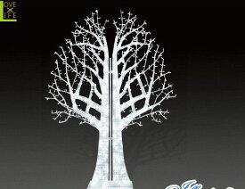 【LED】【ALS-TR(A)ZEL-2】【大型商品】LEDストリング ゼルツリー【2枚】【ツリー】【クリスマスツリー】【ホワイトツリー】【モチーフ】【イルミネーション】【クリスタル】AOIデパートの新作イルミネーション【大人気】【電飾】【クリスマス】【省エネ】