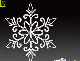【LED】【ALRM-D(A)S】【大型商品】LEDダイヤモンドスノー【スノーフレーク】【雪の結晶】【結晶】【雪】【スノ−】【モチーフ】【イルミネーション】【クリスタル】AOIデパートの新作イルミネーション【大人気】【電飾】【クリスマス】【省エネ】