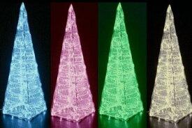 【LED】【WP】【大型商品】LED クリスタルタワー【L】【コーン】【三角】【トンガリ】【塔】【タワー】【ツリー】【イルミネーション】【クリスタル】【エコ】AOIデパートの新作イルミネーション【大人気】【電飾】【クリスマス】【省エネ】【大人気】