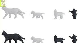 【最終価格】【プッシュピン 4P】ネコ 押しピン【画鋲】【画びょう】【猫】【ねこ】【キャット】【雑貨】【生活雑貨】【グッズ】【デザイン】可愛い猫型のピンが登場 画びょうもおしゃれにしよう【大人気】【かわいい雑貨】【AOI】【大大人気】【人気商品】【】【大人気】