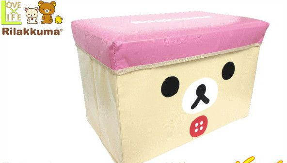 【キャラクターストレージBOX】リラックマ ボックス【リラックマ】【グッズ】【キャラクター】【おもちゃ】【ゆるキャラ】【片付け】【ボックス】【収納】【サンエックス】みんな大好きなゆるキャラ【キャラクターグッズ】【人気商品】【大人気】【大大人気】
