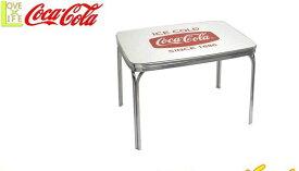 【コカ・コーラ】【COCA-COLA】コカコーラ テーブル【Diner-Table】【家具】【テーブル】【コーク】【机】【アメリカン雑貨】【ドリンク】【ブランド】【アメリカ】【USA】【かわいい】【おしゃれ】コカコーラよりたくさんのグッズが登場 かっこいい空間をを作るのに最適