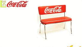 【コカ・コーラ】【COCA-COLA】コカコーラ ベンチシート【Bench】【家具】【イス】【椅子】【コーク】【机】【アメリカン雑貨】【ドリンク】【ブランド】【アメリカ】【USA】【かわいい】【おしゃれ】コカコーラよりたくさんのグッズが登場 かっこいい空間をを作るのに最適