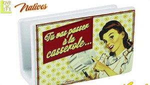 【アメリカン雑貨】【Natives】スポンジホルダー【Casserole】【スポンジ置き】【スタンド】【洗い物】【ブランド】【フランス】【USA】【アメリカ】【かわいい】【おしゃれ】ヴィンテージテ