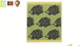 【ポルトガル製】【リサ・ラーソン】ウォッシュタオル【ハリエットグリーン】【ハンカチ】【タオル】【北欧】【デザイン】【デザイナー】【スウェーデン】【グッズ】【たおる】【かわいい】