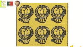 【ポルトガル製】【リサ・ラーソン】バスマット【ライオンイエロー】【マット】【タオルマット】【北欧】【デザイン】【デザイナー】【スウェーデン】【グッズ】【たおる】【かわいい】