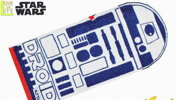 【スターウォーズ】【STAR WARS】フェイスタオル【フォームドロイド】【スター・ウォーズ】【R2-D2】【SF】【タオル】【アニメ】【グッズ】【映画】【たおる】【かっこいい】【かわいい】