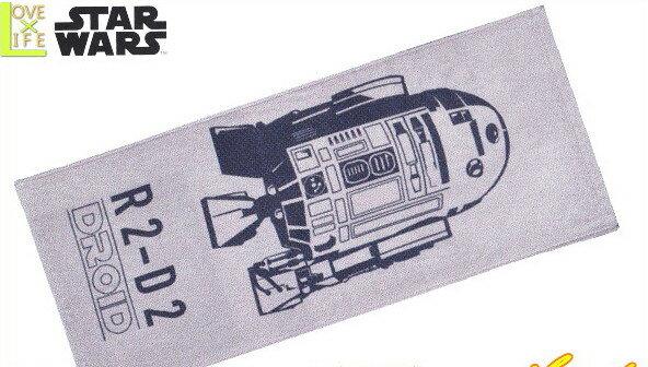 【スターウォーズ】【STAR WARS】フェイスタオル【スタードロイド】【スター・ウォーズ】【R2-D2】【SF】【タオル】【アニメ】【グッズ】【映画】【たおる】【かっこいい】【かわいい】
