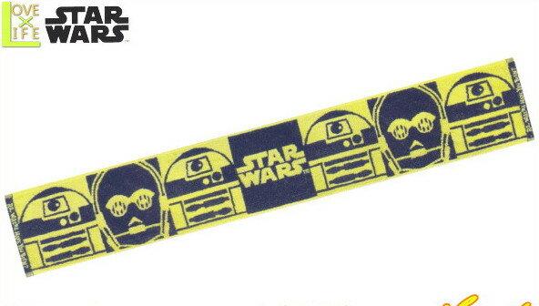 【スターウォーズ】【STAR WARS】マフラータオル【ドロイドライン】【スター・ウォーズ】【SF】【大人用】【ディズニー】【タオル】【アニメ】【グッズ】【映画】【かわいい】