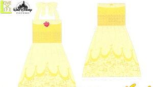 【ディズニープリンセス】バスドレス【ドレスベル】【ベル】【美女と野獣】【姫】【ドレスタオル】【ガウン】【タオル】【たおる】【お風呂】【レジャー】【バスタオル】【かわいい】