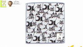 【リサ・ラーソン】ウォッシュタオル【とんがりねこ】【陶芸】【タオル】【北欧】【デザイン】【デザイナー】【スウェーデン】【グッズ】【たおる】【かわいい】