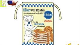 【アメリカン雑貨】コットン巾着【PILLSBURY】【ピルズバリー】【袋】【入れ物】【小物入れ】【巾着】【生活雑貨】【ランチBOX】【子供】【キャラ】【お弁当箱】【かわいい】