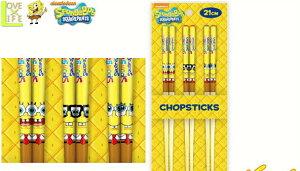 【スポンジボブ】竹箸3点セット【フェイス】【SpongeBob】【ボブ】 【アニメ】【漫画】【食器】【お箸】【ハシ】【竹】【カトラリー】【キャラ】【かわいい】