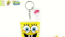 【送料無料】【スポンジボブ】ジェルビーズキーホルダー【フェイス】【カーニバーガー】【SpongeBob】【グッズ】【おもちゃ】【ムニュムニュ】【キーチェーン】【キーホルダー】【かわいい】