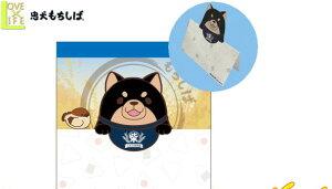 【忠犬もちしば】ダイカットスタンドメモ【ごま】【犬】【柴犬】【メモ】【メモ用紙】【ダイカット】【文房具】【グッズ】【いぬ】【かわいい】