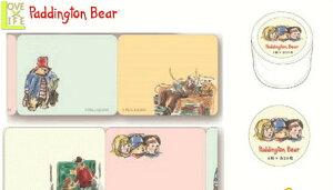 【日本製】【くまのパディントン】ロール付箋【クリーム】【Paddington Bear】【パディントンベア】【シール】【ステッカー】【付箋】【絵本】【児童書】【かわいい】