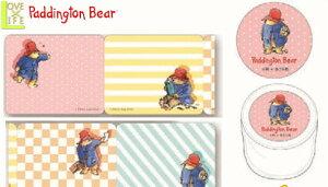 【日本製】【くまのパディントン】ロール付箋【ピンク】【Paddington Bear】【パディントンベア】【シール】【ステッカー】【付箋】【絵本】【児童書】【かわいい】
