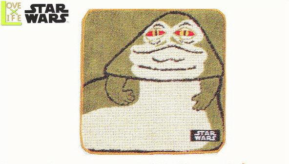 【スターウォーズ】【STAR WARS】ミニタオル【ペーパー】【ジャバ・ザ・ハット】【落書き】【スター・ウォーズ】【SF】【タオル】【アニメ】【グッズ】【映画】【たおる】【かっこいい】【かわいい】