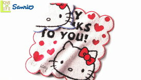 【ハローキティ】ミニタオル【ありがとうハローキティ】【Kitty】【キティ】【キティちゃん】【グッズ】【サンリオ】【キャラ】【タオル】【たおる】【かわいい】