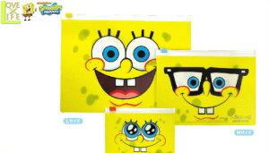 【スポンジボブ】3Pファスナーケースセット【フェイス】【SpongeBob】【ボブ】【文房具】【マンガ】【アニメ】【学校】【勉強】【ペンケース】【筆箱】【ポーチ】【化粧ポーチ】【かわい