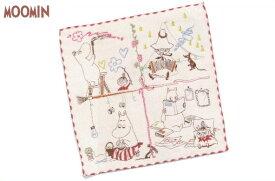 【ムーミン】【Moomin】ミニタオル【楽しいひととき】【ミイ】【リトルミイ】【スナフキン】【アニメ】【刺繍】【ハンカチ】【タオル】【たおる】【北欧】【グッズ】【かわいい】
