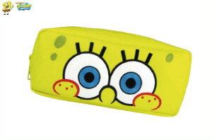 【スポンジ・ボブ】ドアップペンポーチ【ノーマル】【SpongeBob】【ボブ】【スポンジボブ】 【文房具】【学校】【勉強】【生活雑貨】【ペンケース】【筆箱】【キャラ】【かわいい】