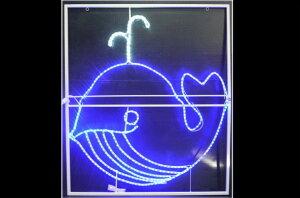 【LED】【イルミネーション】【大型商品】クジラ【くじら】【鯨】【さかな】【魚】【海】【サマーイルミネーション】【クリスマス】【電飾】【夏】【サマー】【モチーフ】【壁掛け】【