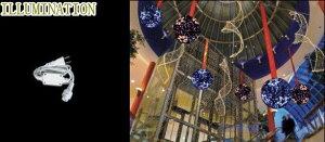 【2012新作イルミネーション】LEDクリスタル ビッグボール【部品】【アクセサリー】☆LEDイルミネーション クォリティーの高いイルミネーションが勢ぞろい【LED】【送料無料】【クリスマ