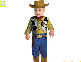 【ベイビー】ウッディ【Woody】【トイストーリー】【着ぐるみ】【赤ちゃん】【ベビー】【キャラクター】【仮装】【衣装】【コスプレ】【コスチューム】【ハロウィン】【パーティ】【イベント】【かわいい】ハロウィンはかわいいキャラコスでかっこよく着こなし