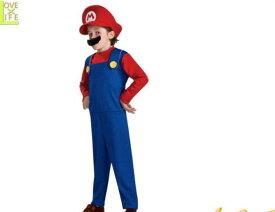 【キッズ】マリオ【Mario】【スーパーマリオ】【ゲーム】【任天堂】【子供】【キャラクター】【仮装】【衣装】【コスプレ】【コスチューム】【ハロウィン】【パーティ】【イベント】【かわいい】ハロウィンはかわいいキャラ衣装でかっこよく着こなし 目立っちゃおう