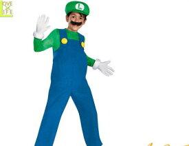 【キッズ】ルイージ【Luigi】【スーパーマリオ】【ゲーム】【任天堂】【子供】【キャラクター】【仮装】【衣装】【コスプレ】【コスチューム】【ハロウィン】【パーティ】【イベント】【かわいい】ハロウィンはかわいいキャラ衣装でかっこよく着こなし 目立っちゃおう