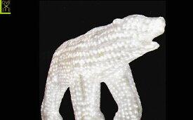 【LEDモチーフ】【20 】LED クリスタル 白クマ【D】【ベアー】【3D】ハイクオリティーシリーズのくまさん♪全身にコーティング加工!輝きは最高です♪【2012年新作】【送料無料】【大人気】【イルミネーション】【クリスマス】【LED】【大人気】