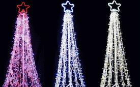 【NEW】【2013新作】(Mサイズ)LEDスーパーツリー ビッグサイズのビックリ!イルミネーション!1000球以上のLEDが一本のツリーを演出!驚きの美しさです♪【20 】【送料無料】【クリスマス】【イルミネーション】【電飾】【モチーフ】【大人気】