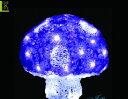 【20 】クリスタル キノコ パープル【Mサイズ】【LED】【きのこ】【野菜】【童話】今年の新作キノコシリーズ!カラー…