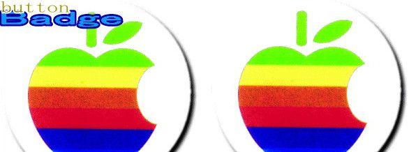 Mac【アップル】人気の缶バッジを大量投入!服やバック・カバンなどをリメイクしちゃいましょう♪なつかしいキャラクターや海外のメーカー!お気に入りを見つけてください♪【缶】【バッチ】【バッジ】【2.980円以上送料無料】