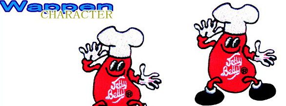 ジェリービーンズ【Jelly Belly】人気のワッペン【アイロンパッチ】を集めました♪服やカバン(リュック)をカスタムしちゃいましょう♪人気キャラクターが勢揃いです♪【2.980円以上送料無料】【ワッペン】【アイロンパッチ】【人気商品】