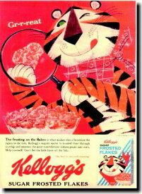 ケロッグ【トニー・ザ・タイガー】ポスター!アメリカ〜ンなポスターが勢揃い!お部屋をカスタムしちゃいましょう♪【】【新商品】【大人気】