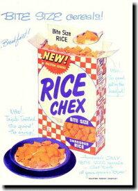 RICE CHEX【広告ポスター】【Cereal】ポスター!アメリカ〜ンなポスターが勢揃い!お部屋をカスタムしちゃいましょう♪【】【新商品】【大人気】