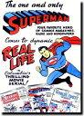 スーパーマン【Superman】【ホワイト】ポスター!アメリカ〜ンなポスターが勢揃い!お部屋をカスタムしちゃいましょう…