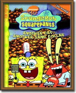 スポンジボブ【SpongeBob】【#8】【Sサイズ】ミニサイズのイラスト ピクチャーフレーム!インテリアにどうぞ♪アメリカの香りがする商品を揃えました♪企業ロゴやキャラクター!どれもCOOL