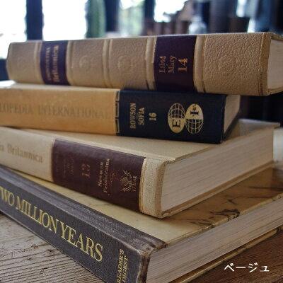 古書古い本洋書1冊Lサイズ黒茶ベージュオールドブックイギリス英国製アンティーク紙物文具
