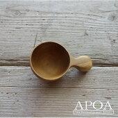 木製コーヒーメジャースプーン(ショート)天然木の手作り