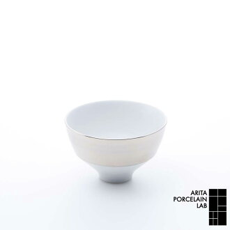 Arita ware making JAPAN SNOW rice bowl platinum