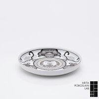 有田焼/丸皿JAPANSNOW和皿19cmJS古伊万里草花紋Φ190×h30mmアリタ・ポーセリン・ラボ