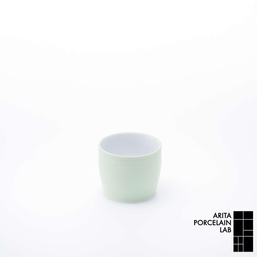 和食器 湯呑 JAPAN TEA デザイン湯呑 パールグリーン 和モダン ブランド 食器 食器ギフト フリーカップ アリタポーセリンラボ