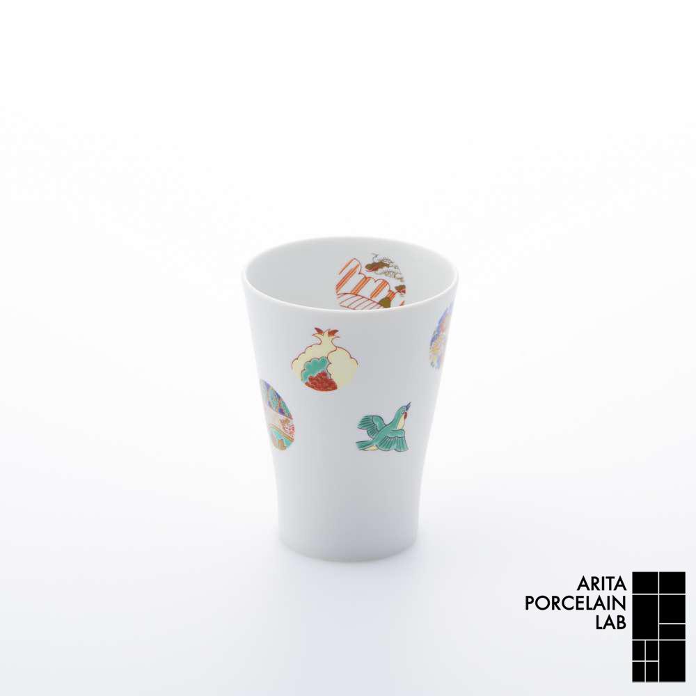 和食器 焼酎グラス TIME MACHINE フリーカップ ASTEROID 和モダン ブランド 食器 食器ギフト コーヒーカップ アリタポーセリンラボ