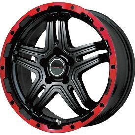 【取付対象】【送料無料】 225/65R17 17インチ PREMIX プレミックス グラバス-J2(マットブラック/レッドリム) 7J 7.00-17 NEOLIN ネオリン ネオスポーツ STX(限定) サマータイヤ ホイール4本セット