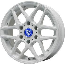 【送料無料 NV350キャラバン】 215/55R18 18インチ PREMIX プレミックス ミュンスター(ホワイト)【限定】 7.5J 7.50-18 DUNLOP ダンロップ ルマン 4(LM704) サマータイヤ ホイール4本セット